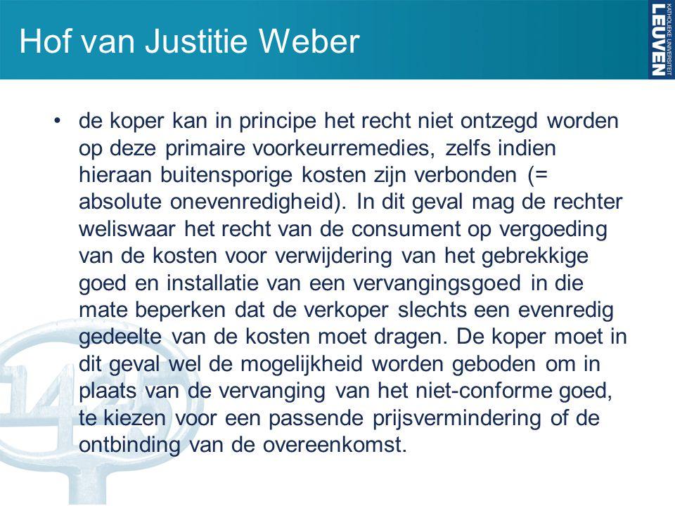 Hof van Justitie Weber