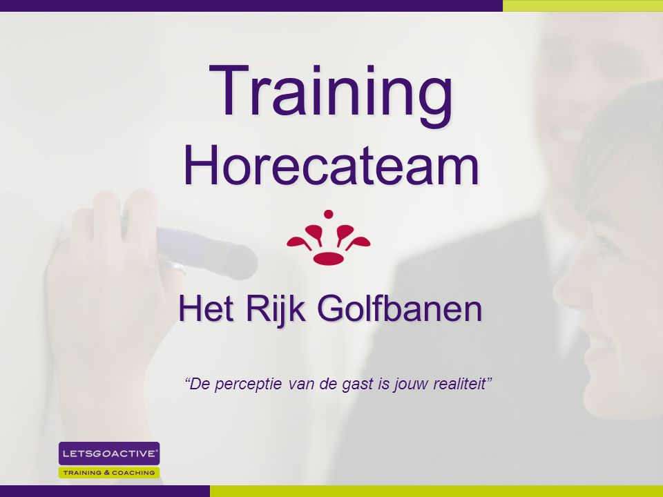 Training Horecateam Het Rijk Golfbanen