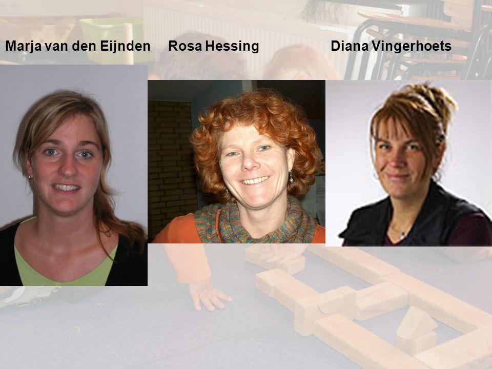 Marja van den Eijnden Rosa Hessing Diana Vingerhoets