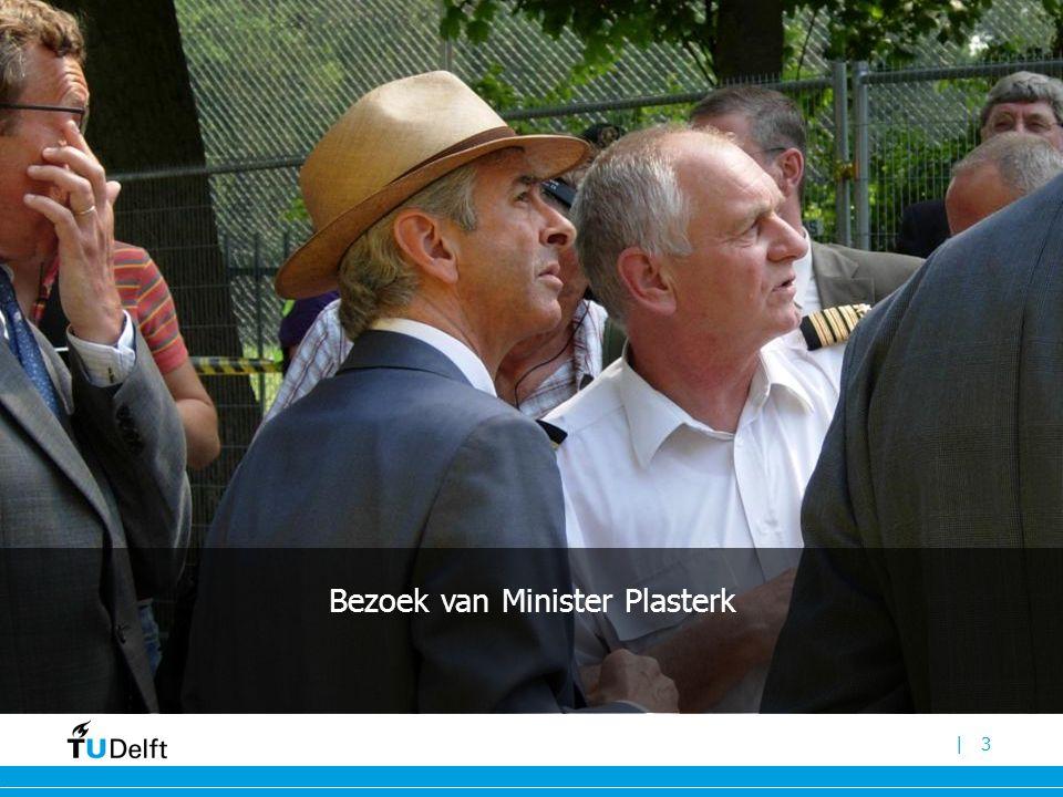 Bezoek van Minister Plasterk