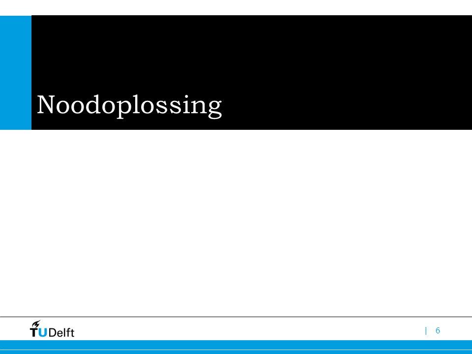 Noodoplossing