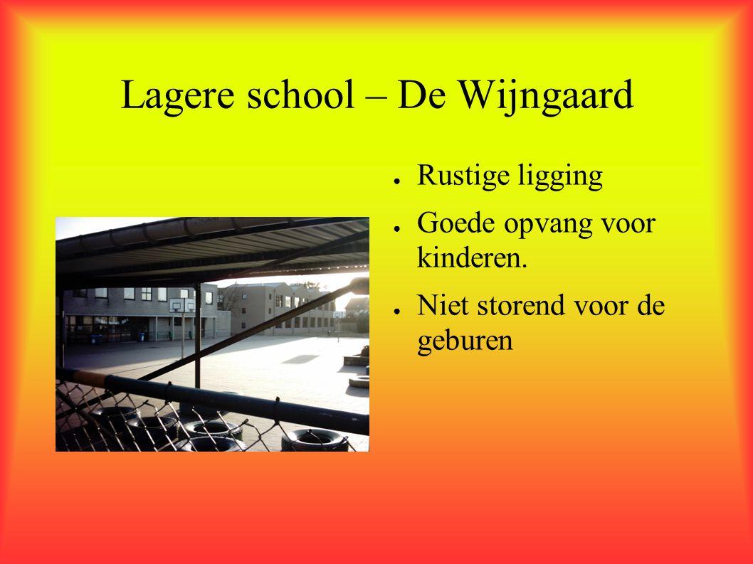 Lagere school – De Wijngaard