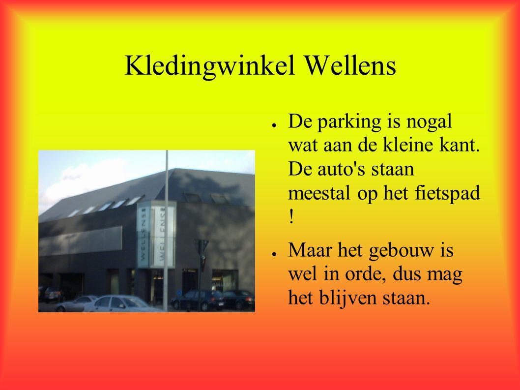 Kledingwinkel Wellens