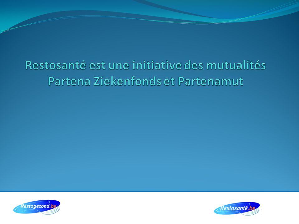 Restosanté est une initiative des mutualités Partena Ziekenfonds et Partenamut