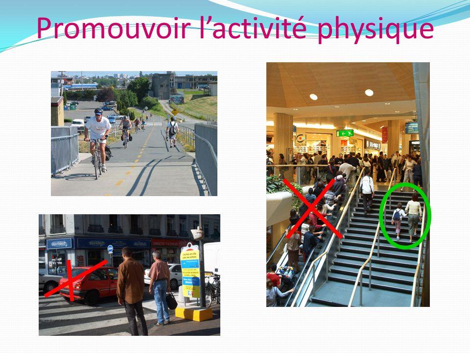 Promouvoir l'activité physique