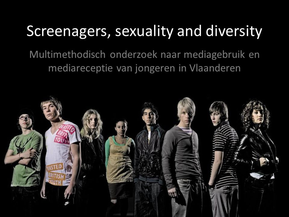 Screenagers, sexuality and diversity