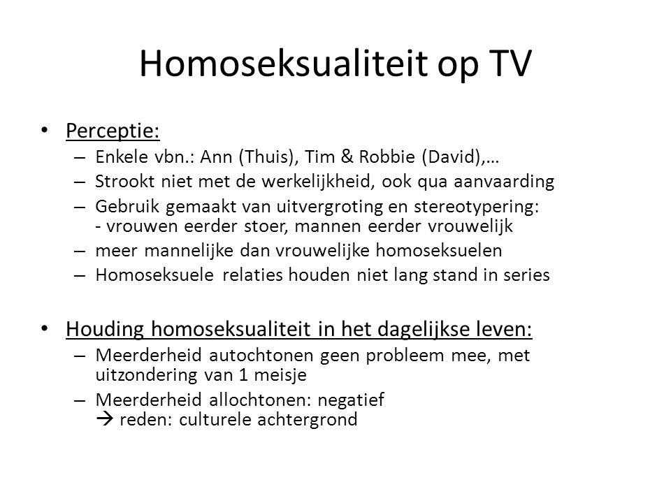 Homoseksualiteit op TV