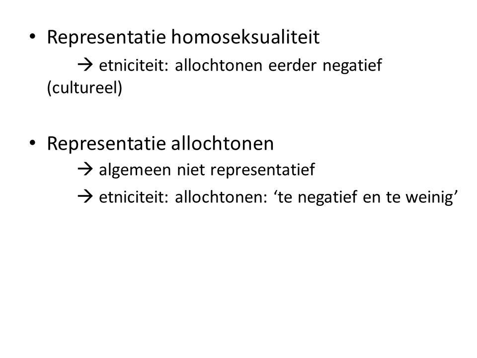 Representatie homoseksualiteit