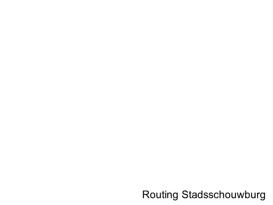 Routing Stadsschouwburg