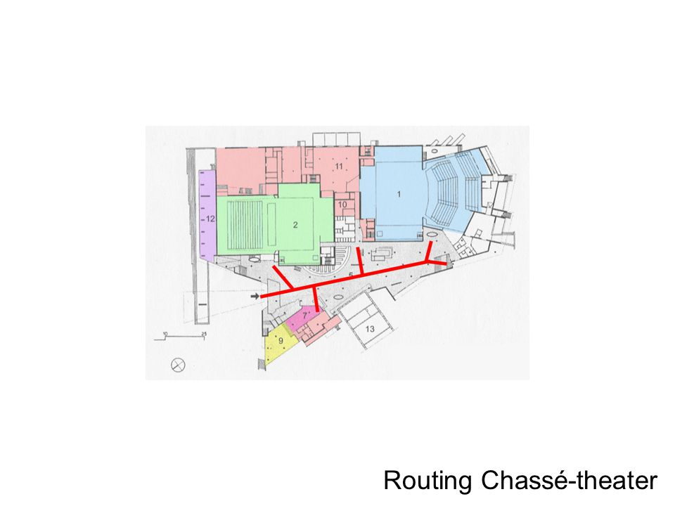 Routing Chassé-theater