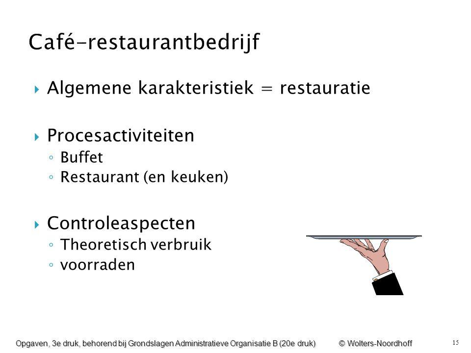 Café-restaurantbedrijf