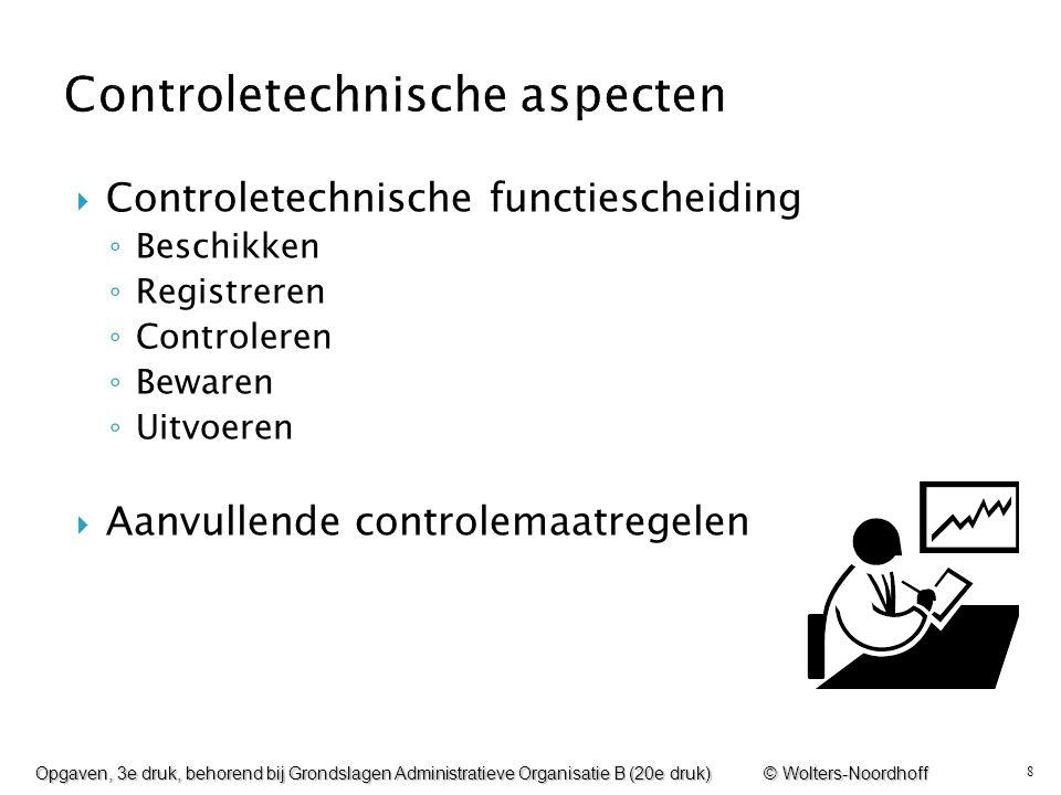 Controletechnische aspecten