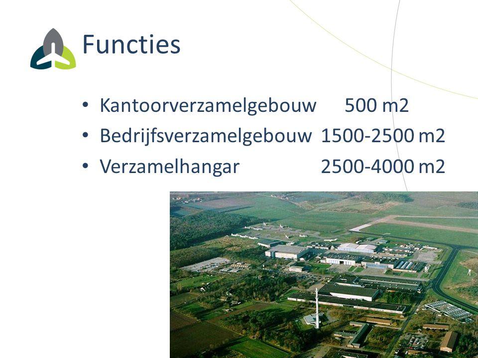 Functies Kantoorverzamelgebouw 500 m2