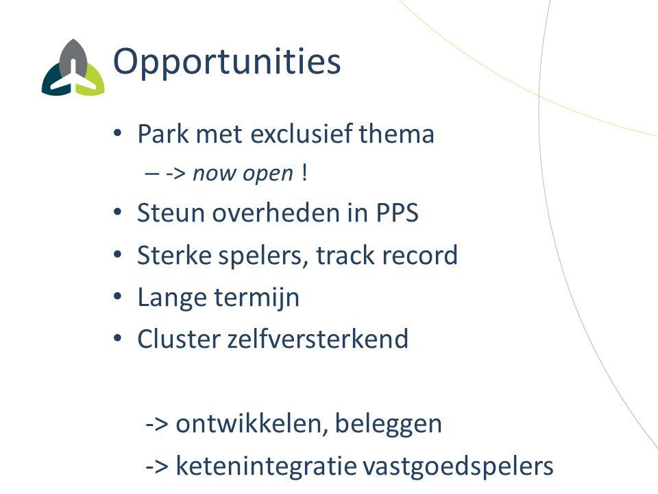 Opportunities Park met exclusief thema Steun overheden in PPS
