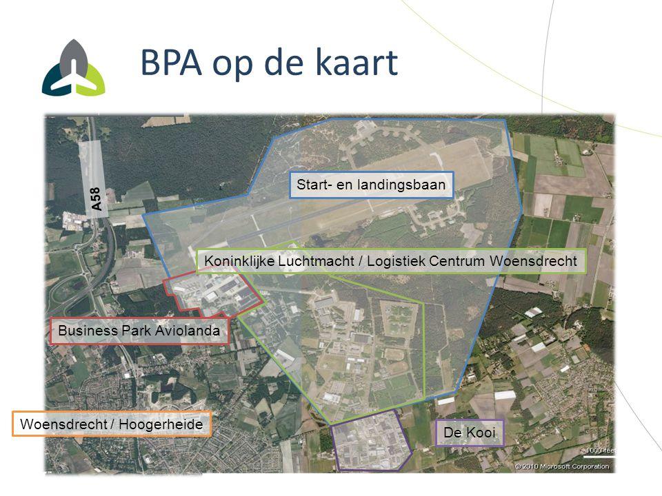 BPA op de kaart Start- en landingsbaan