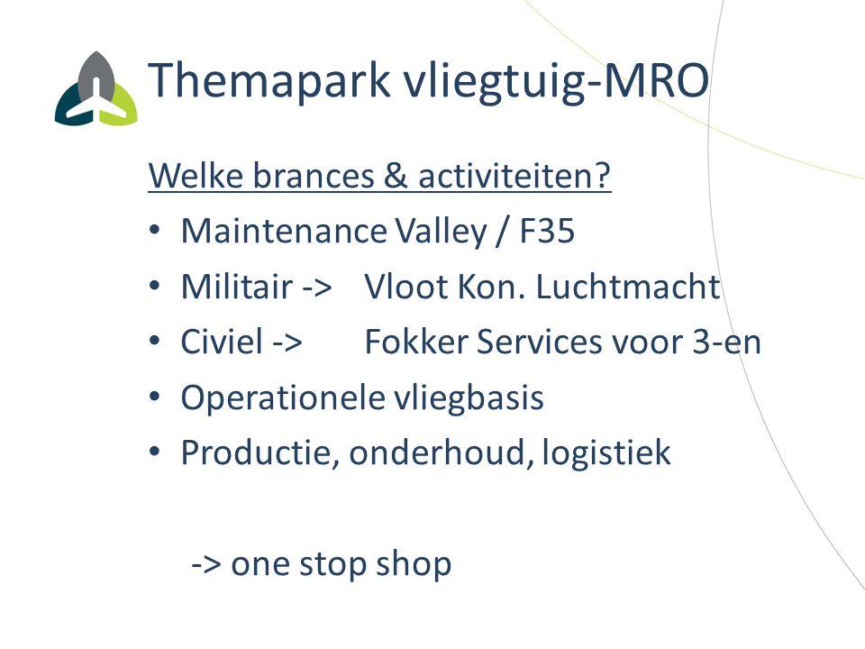 Themapark vliegtuig-MRO