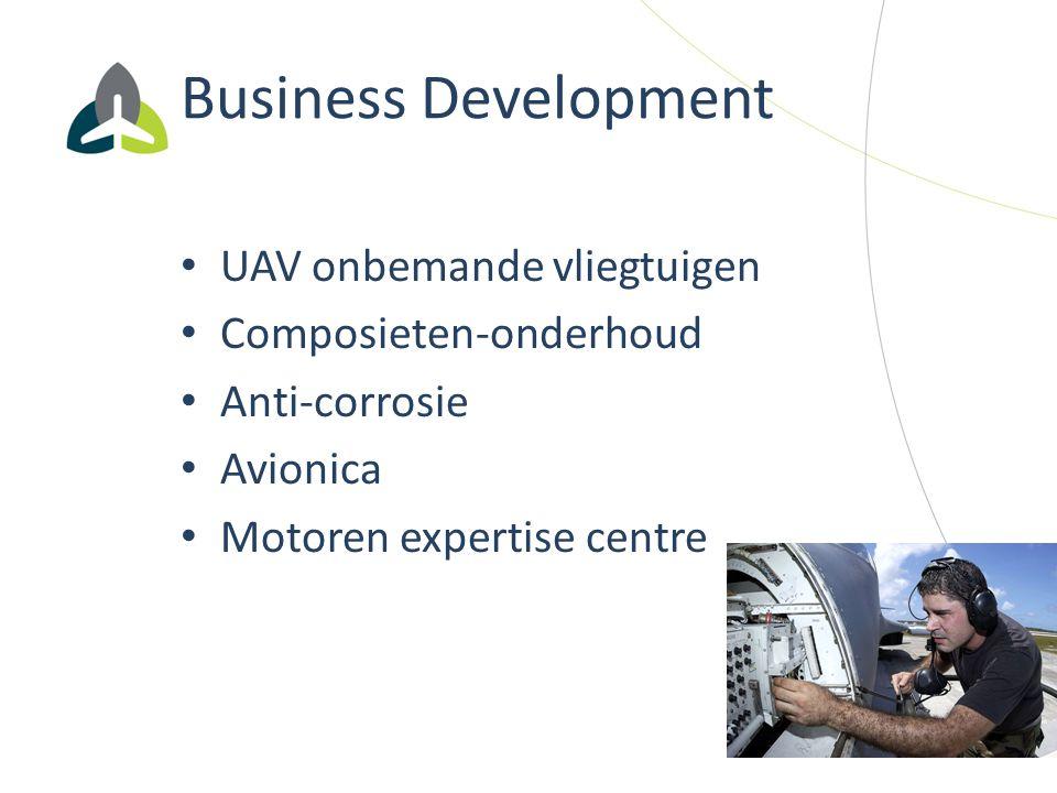 Business Development UAV onbemande vliegtuigen Composieten-onderhoud
