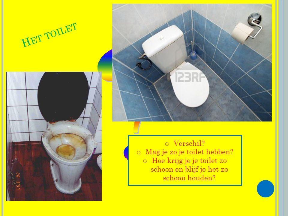 Het toilet Verschil Mag je zo je toilet hebben
