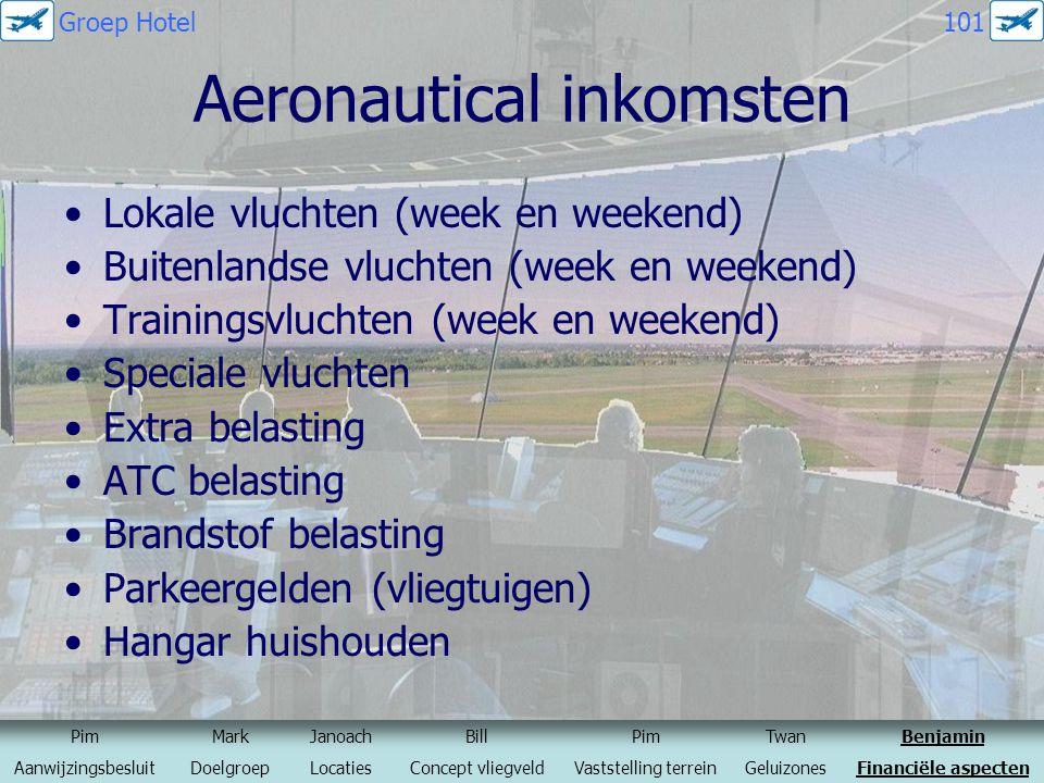 Aeronautical inkomsten