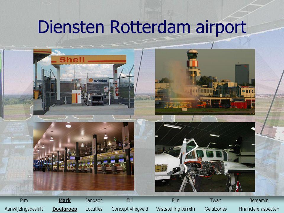 Diensten Rotterdam airport
