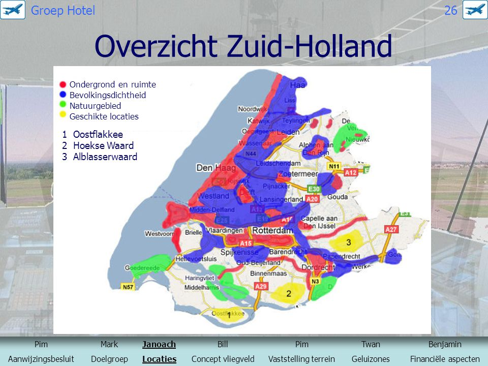 Overzicht Zuid-Holland