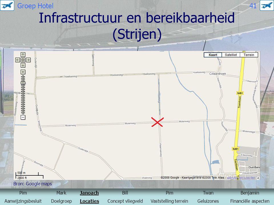 Infrastructuur en bereikbaarheid (Strijen)