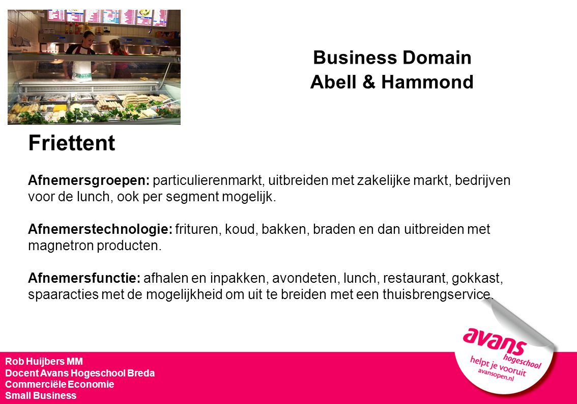 Business Domain Friettent Abell & Hammond