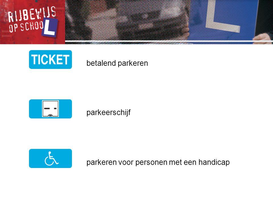 betalend parkeren parkeerschijf parkeren voor personen met een handicap