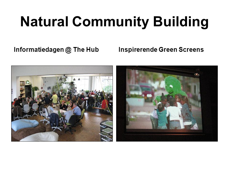 Natural Community Building