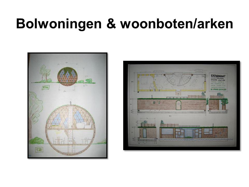 Bolwoningen & woonboten/arken