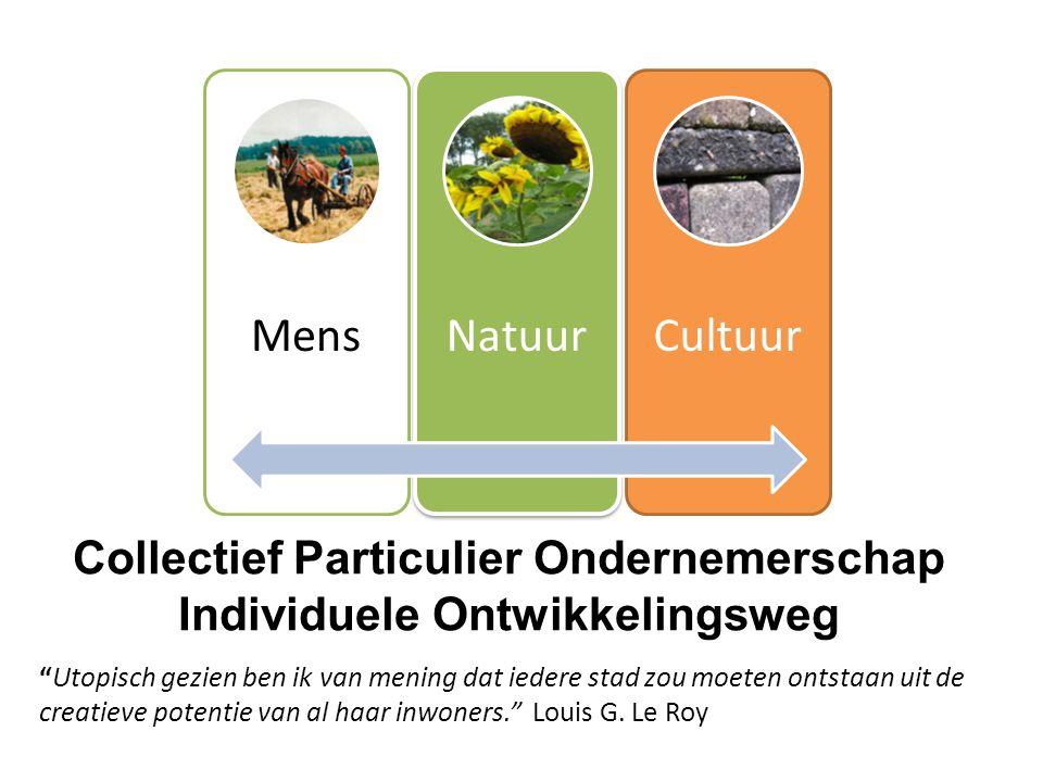 Collectief Particulier Ondernemerschap Individuele Ontwikkelingsweg