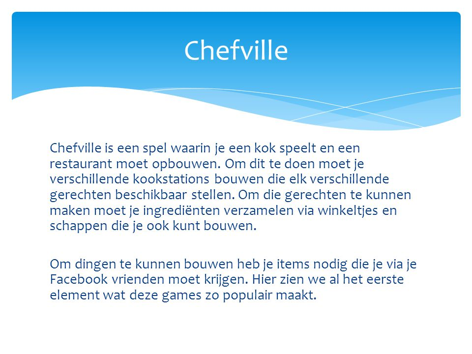 Chefville