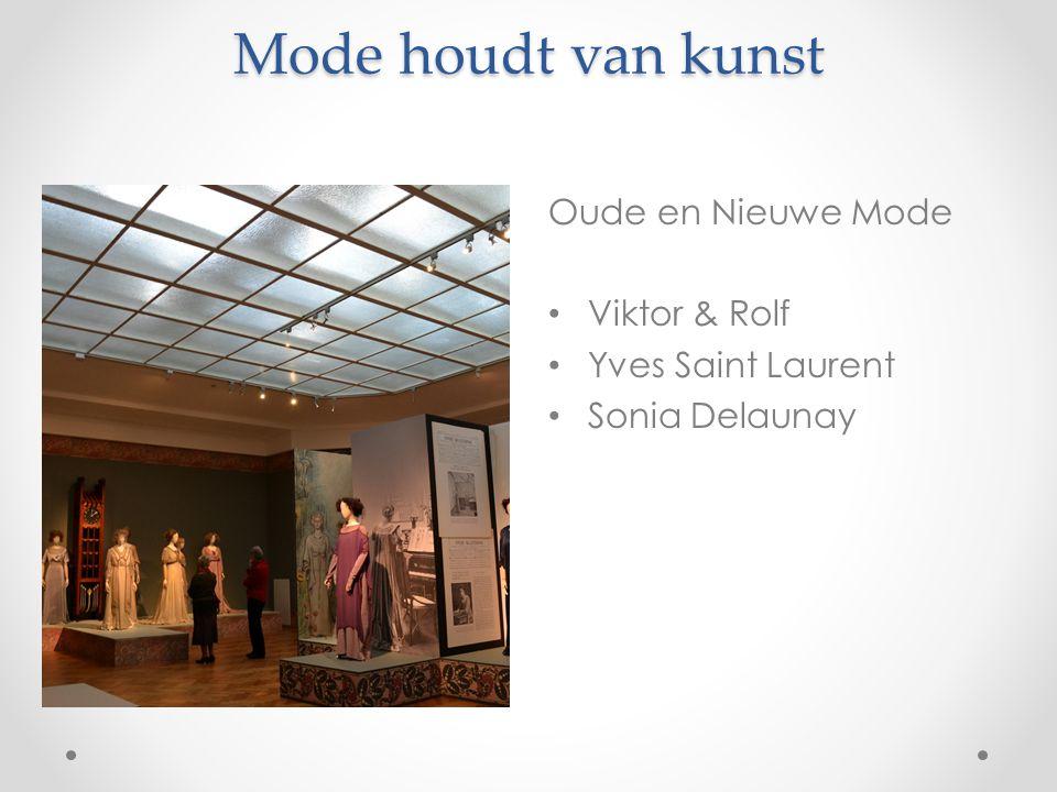 Mode houdt van kunst Oude en Nieuwe Mode Viktor & Rolf