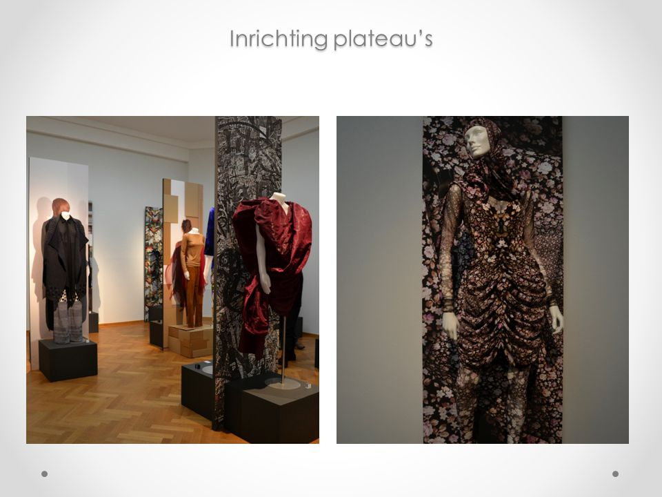 Inrichting plateau's