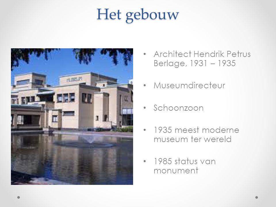 Het gebouw Architect Hendrik Petrus Berlage, 1931 – 1935