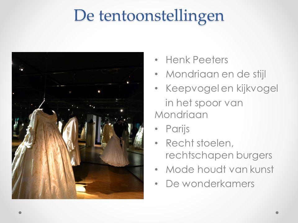 De tentoonstellingen Henk Peeters Mondriaan en de stijl