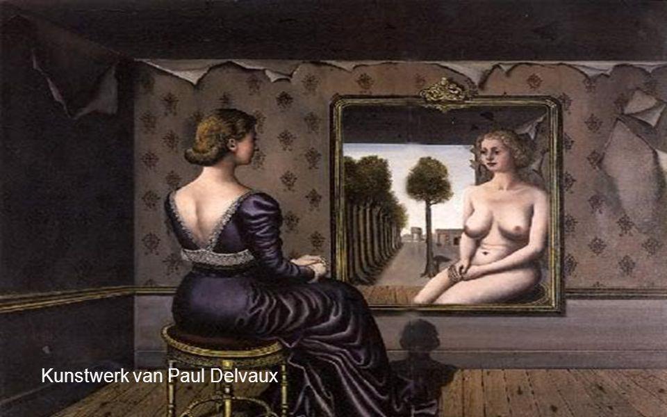 Kunstwerk van Paul Delvaux