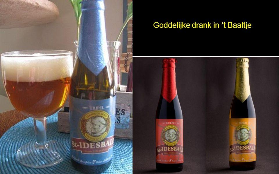 Goddelijke drank in 't Baaltje