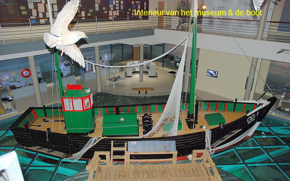 Interieur van het museum & de boot