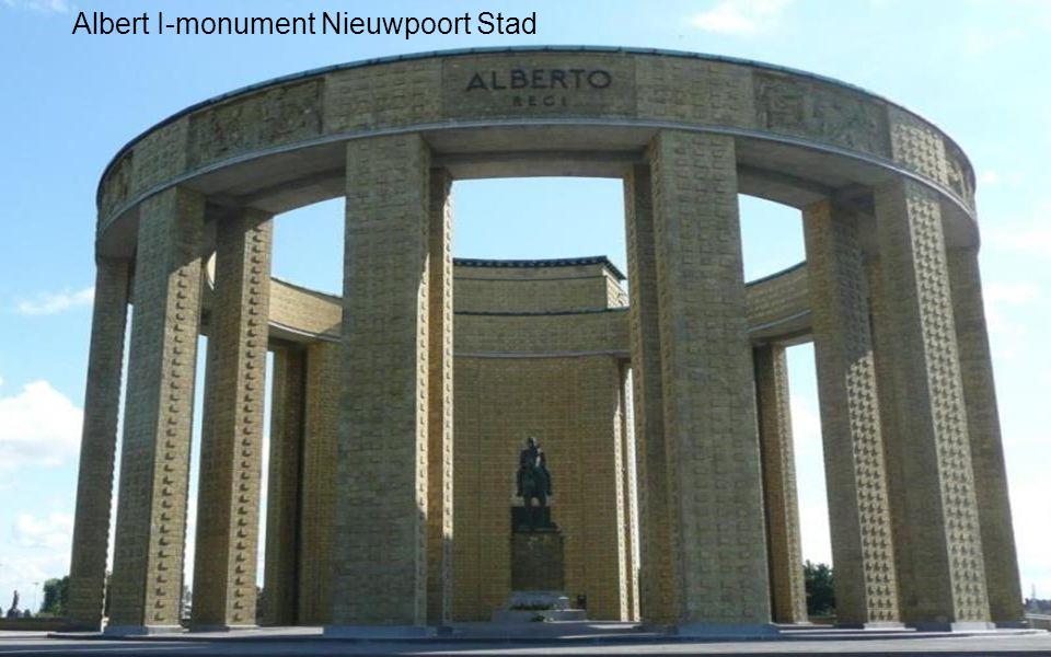 Albert I-monument Nieuwpoort Stad