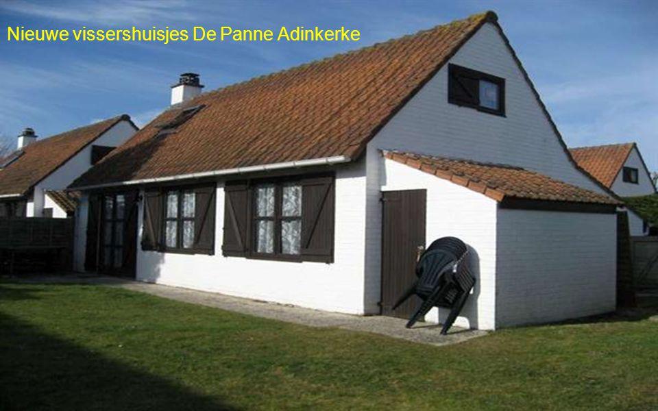 Nieuwe vissershuisjes De Panne Adinkerke