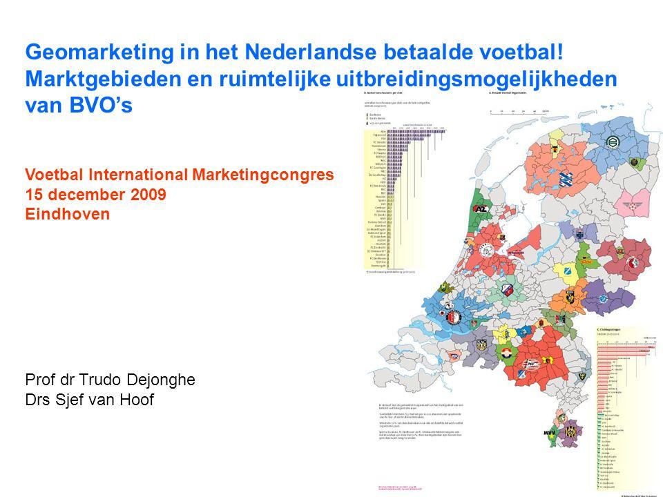 Geomarketing in het Nederlandse betaalde voetbal!