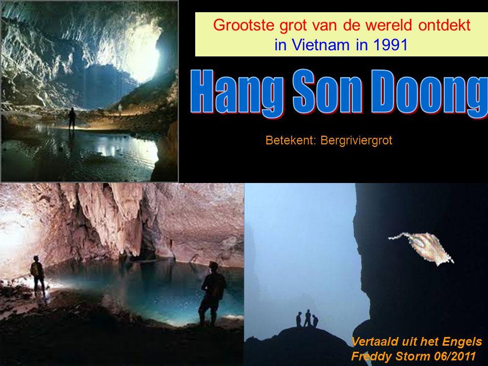 Grootste grot van de wereld ontdekt