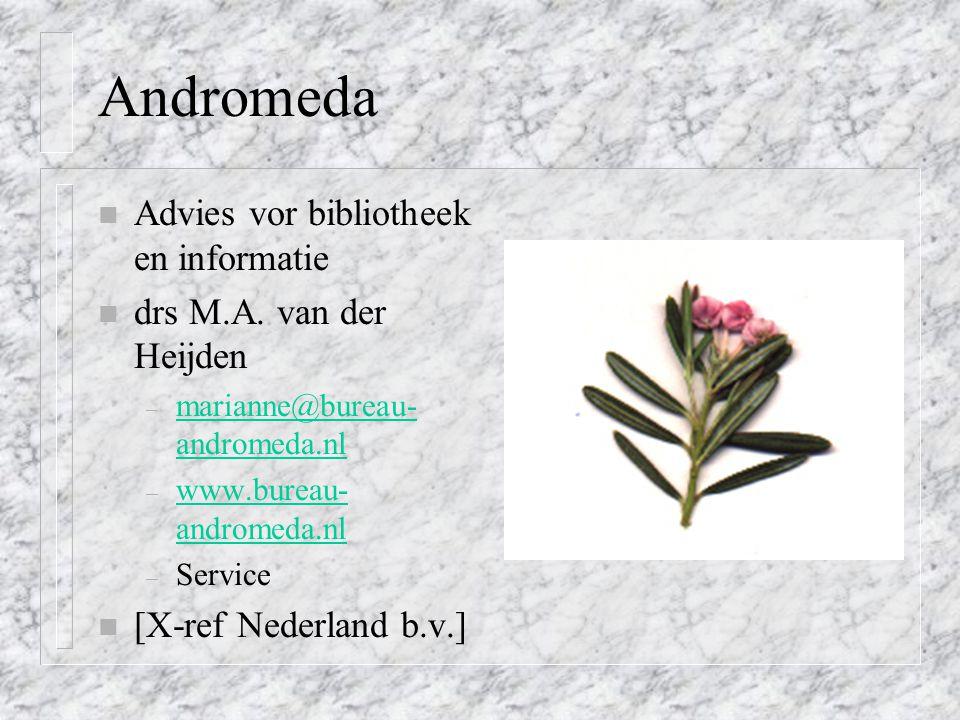 Andromeda Advies vor bibliotheek en informatie