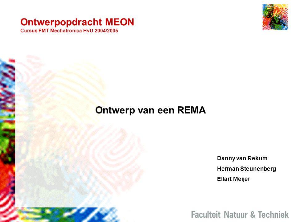 Ontwerpopdracht MEON Cursus FMT Mechatronica HvU 2004/2005