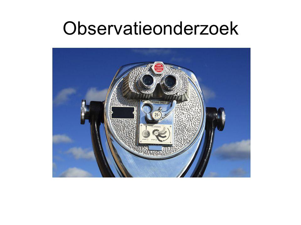 Observatieonderzoek