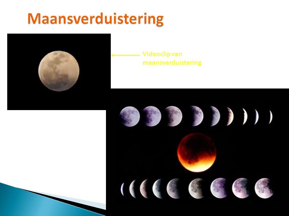 Maansverduistering Videoclip van maansverduistering