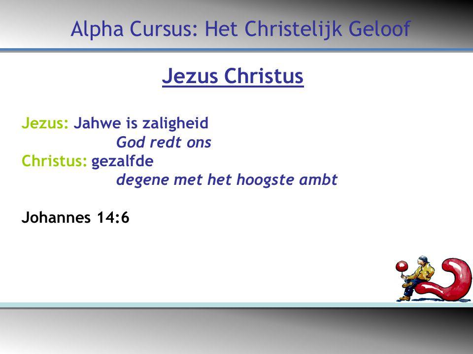 Alpha Cursus: Het Christelijk Geloof