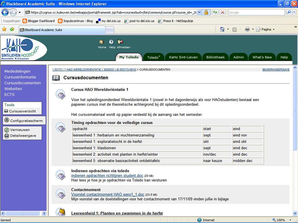 Voorbeeld - Screenshot