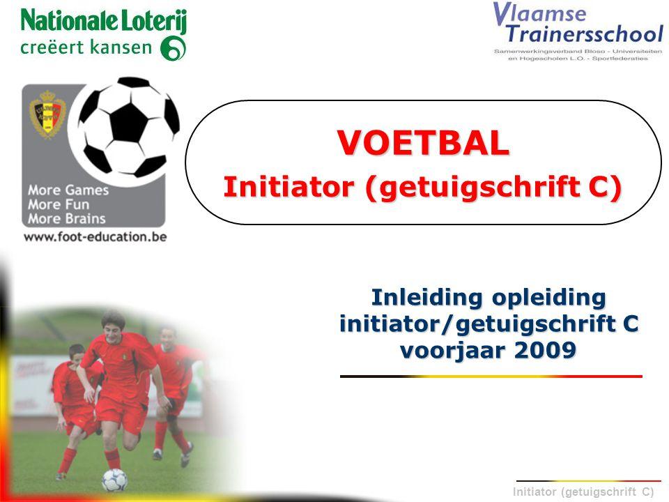 VOETBAL Initiator (getuigschrift C)